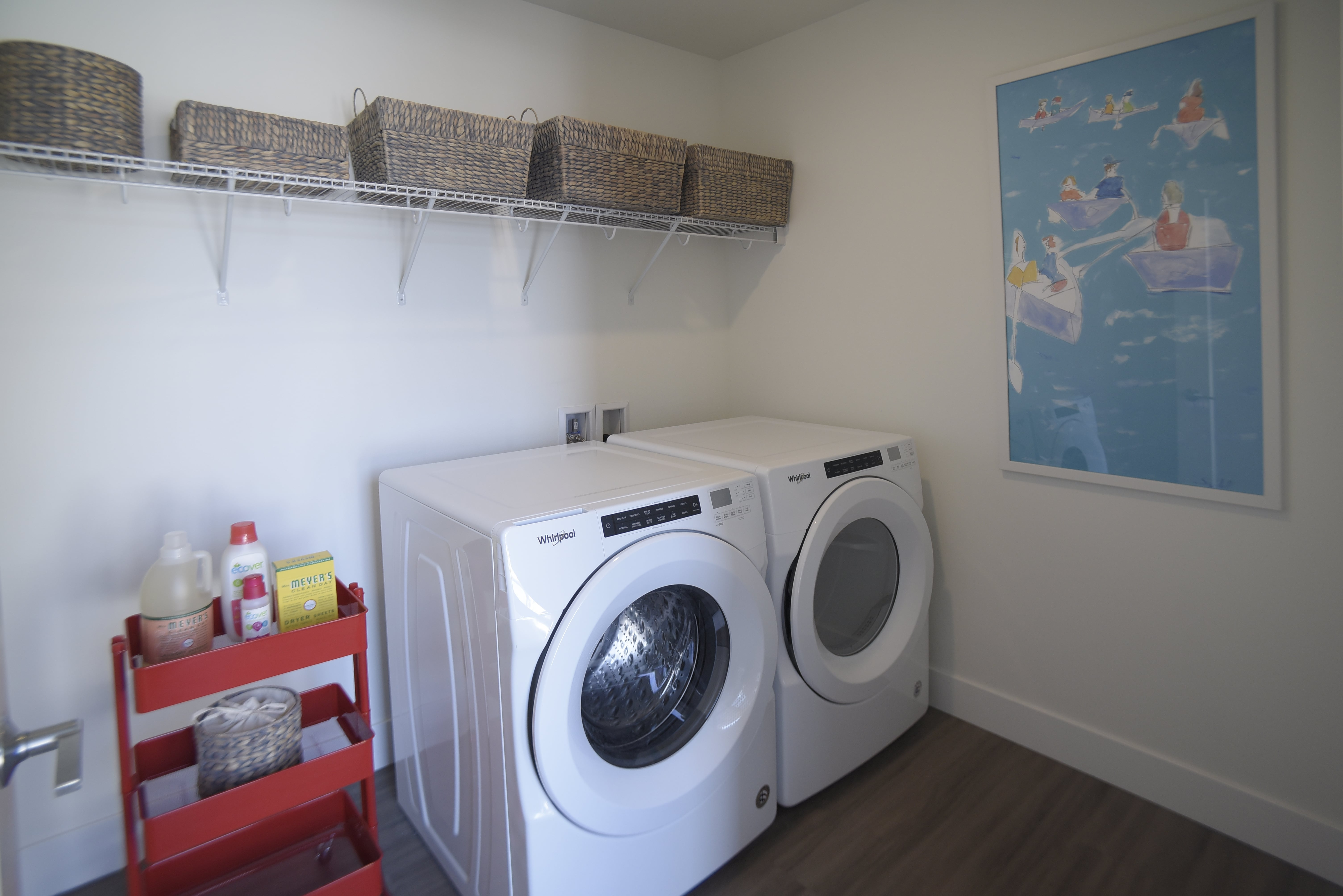 Full-size washer and dryer available at Spur 16 Apartments.