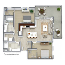 Apartment Floor Plan C4