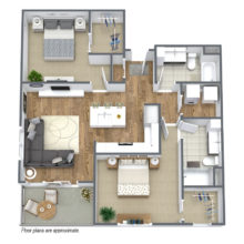 Apartment Floor Plan C5
