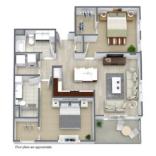 Apartment Floor Plan C6