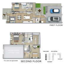 Spur 16 Apartment 2 level floor plan