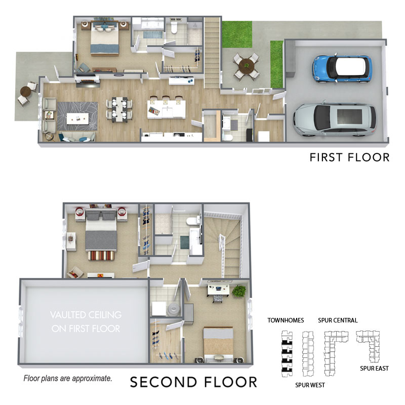 Spur 16 Apartment 2 level floor plan